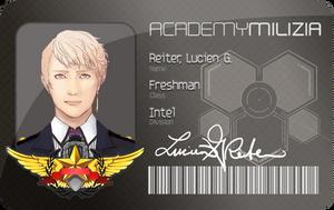 Milizia: ID (Lucien G. Reiter) by tsukizu