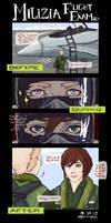 Milizia: Flight Exam (Lucien) by tsukizu