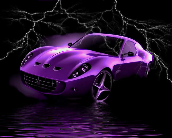 Purpel Car by sweetpoison67