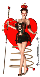 Queen Of Hearts Kim 1 by sweetpoison67