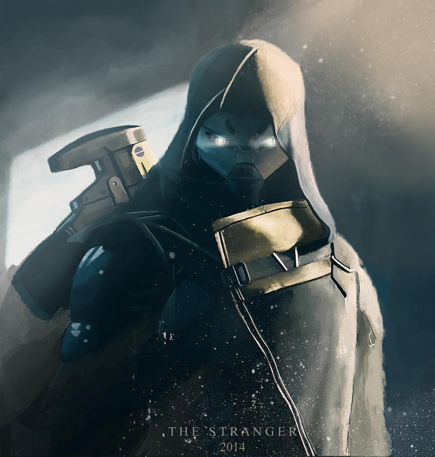 The Stranger - Destiny FanART by iamNOVREHS