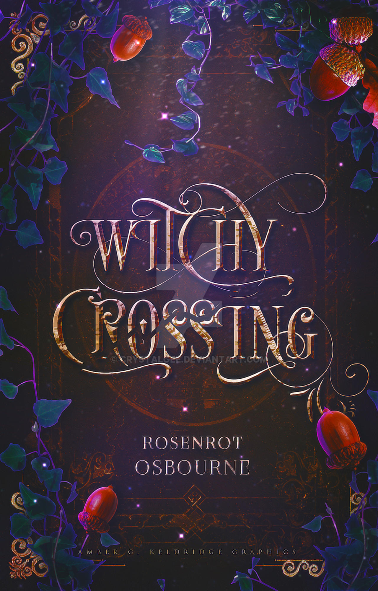 Witchy Crossing [Wattpad Cover]