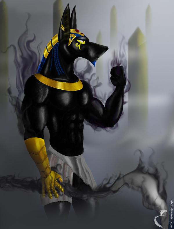 Anubis by 3bdoArt