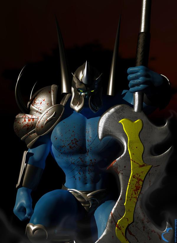 The Rogue Knight by 3bdoArt