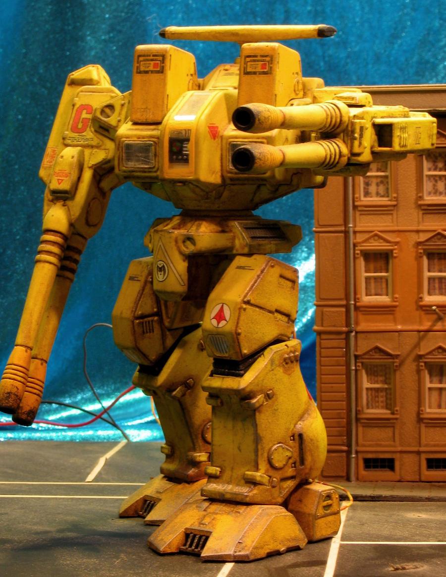 Battletech Rifleman by godzillabadger