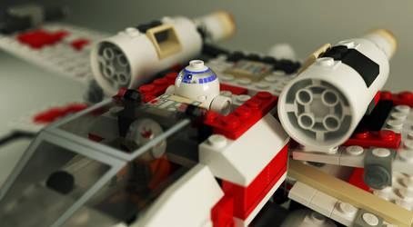Starwars X-wing by ruudcoenen