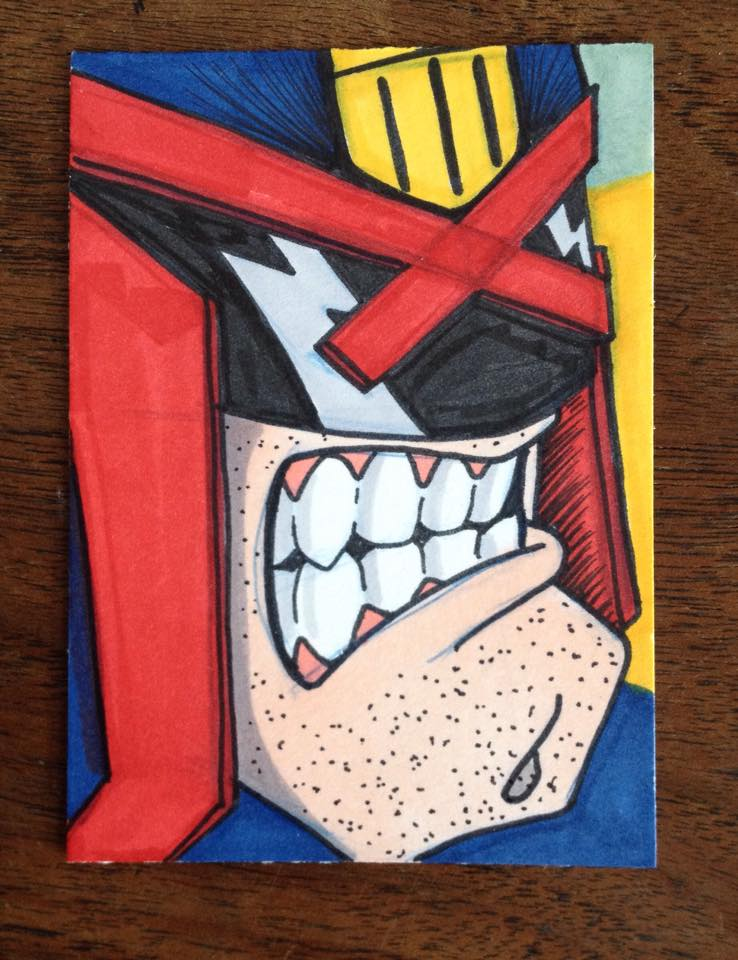 Presidents Day Dredd by madscott