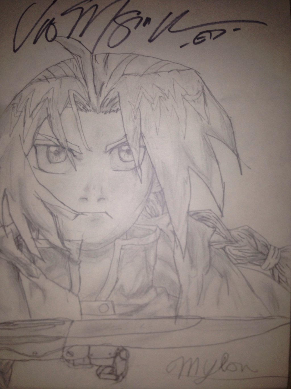 vic mignogna signed edward ed elric by thesly797 on deviantart