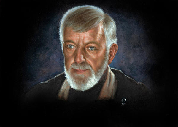 Obi Wan Kenobi - Alec Guiness by Melanarus
