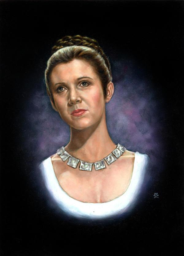 Star Wars Princess Leia by Melanarus