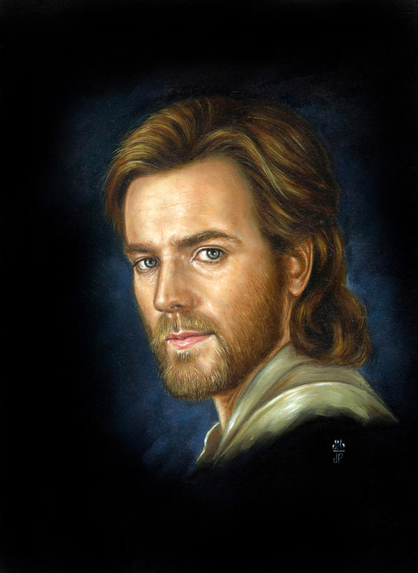 Obi Wan Kenobi - Ewan Mcgregor by Melanarus