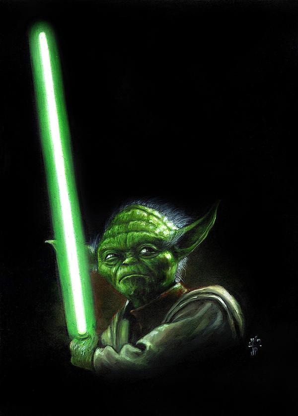 Master Yoda by Melanarus