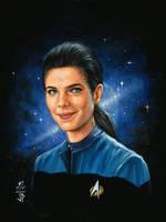 Woman of Star Trek  Jadzia Dax by Melanarus