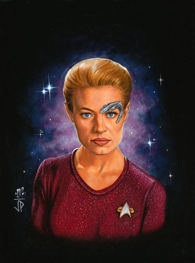 Woman of Star Trek - 7 of 9 by Melanarus