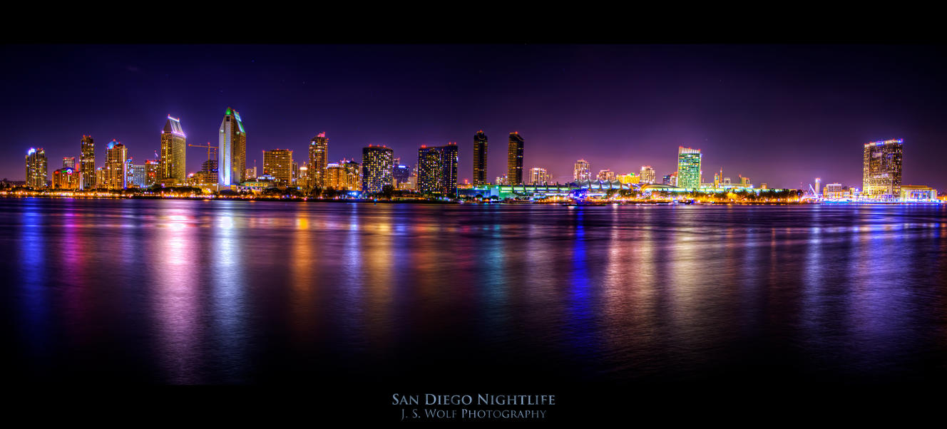 San Diego Nightlife by lonewolf565