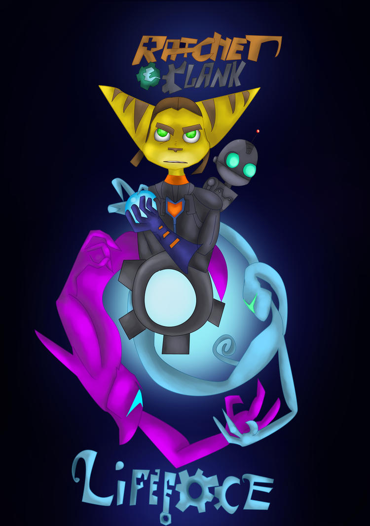 Updated Ratchet and Clank: Lifeforce Cover by What-if-Writer