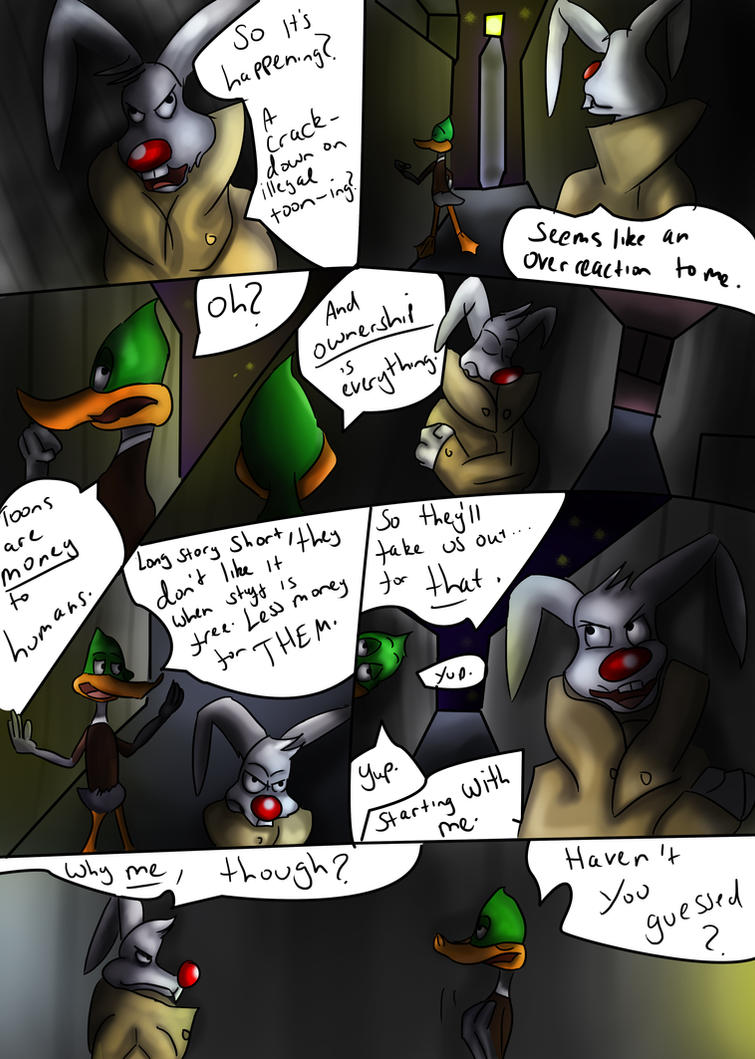 Toon Town: The Rip Offs Page 7 by What-if-Writer