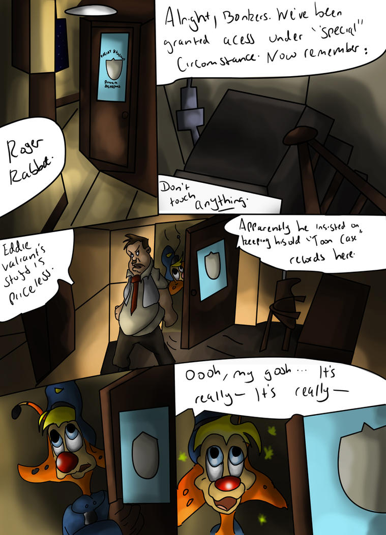 Toon Town: The Rip Offs Page 8 by What-if-Writer