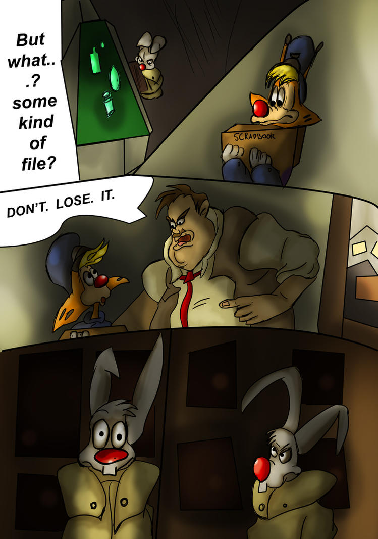 Toon Town Comic: The Rip Offs Page 15 by What-if-Writer