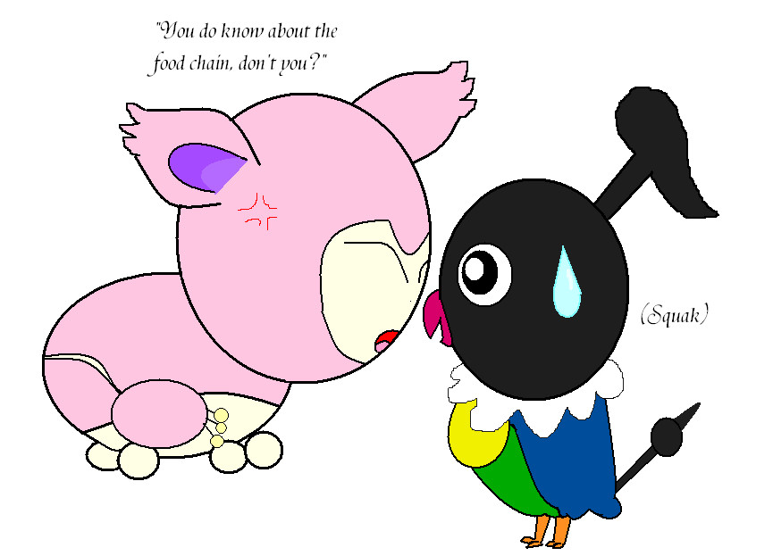 love chatot Chatot is a member of wigglytuff's guild although he means well, chatot can be somewhat hotheaded his personality is also somewhat erratic, but to a lesser extent than wigglytuff.