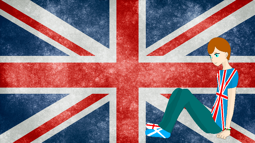 HM CSF UK Flag Background By ABtheButterfly