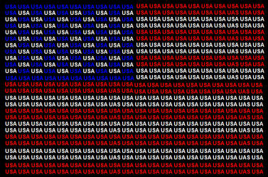 USA name flag by ABtheButterfly