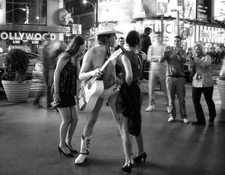 naked cowboy by cangelir