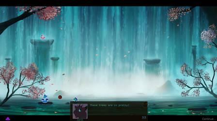 D'Island online game - Skye's Birthday