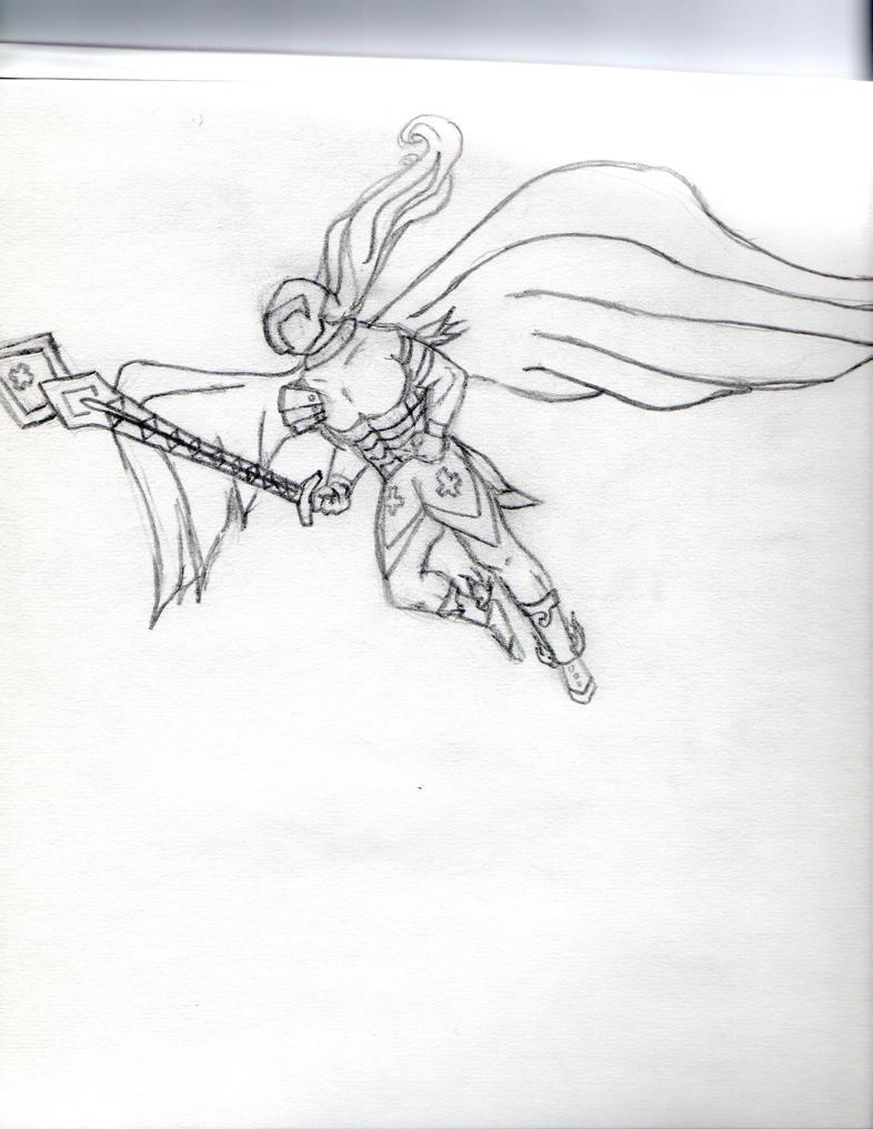 angelwarrior by lightson2nite