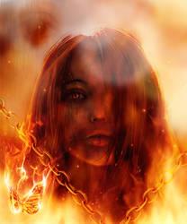 The witch by Yasei-Neko