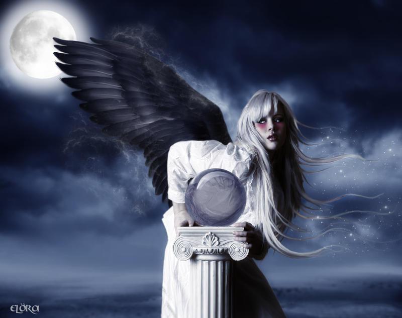the angel of the night by eternaldreamart on deviantart