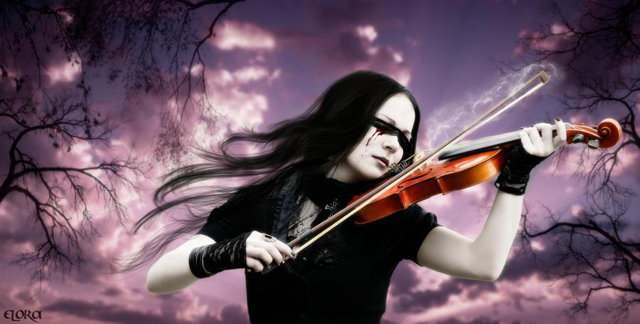 Sad Violin by Eternal-Dream-Art