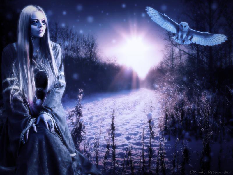 Viking Lady by Eternal-Dream-Art