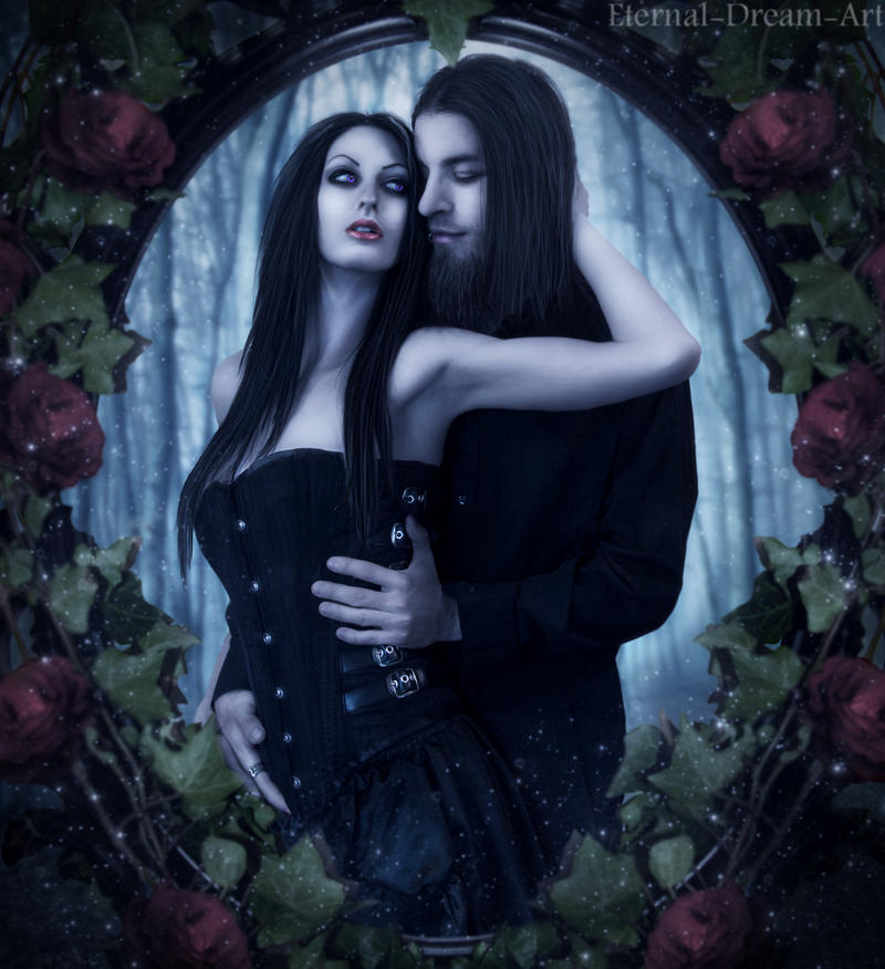 Gothic Embrace By Eternal Dream Art