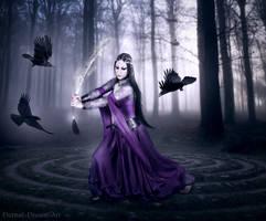 Morgana by Eternal-Dream-Art