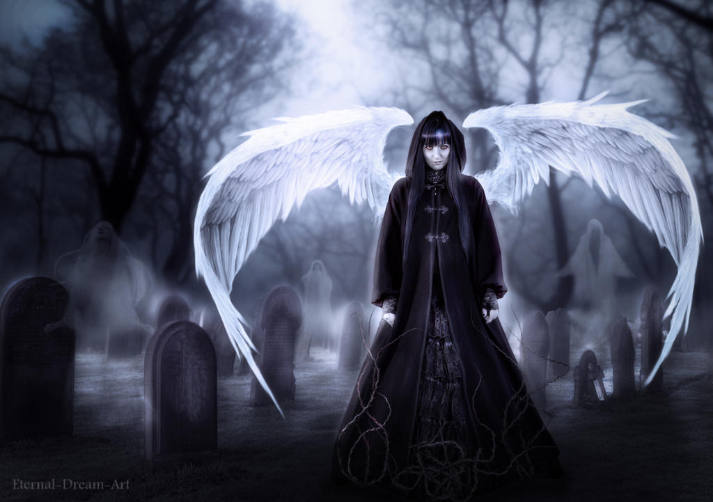 The angel of the lost souls by Eternal-Dream-Art on DeviantArt