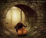 Autumn Cat by Eternal-Dream-Art