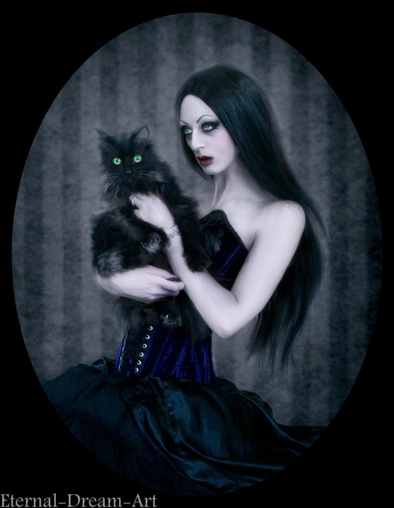 Gothic portrait by Eternal-Dream-Art on DeviantArt