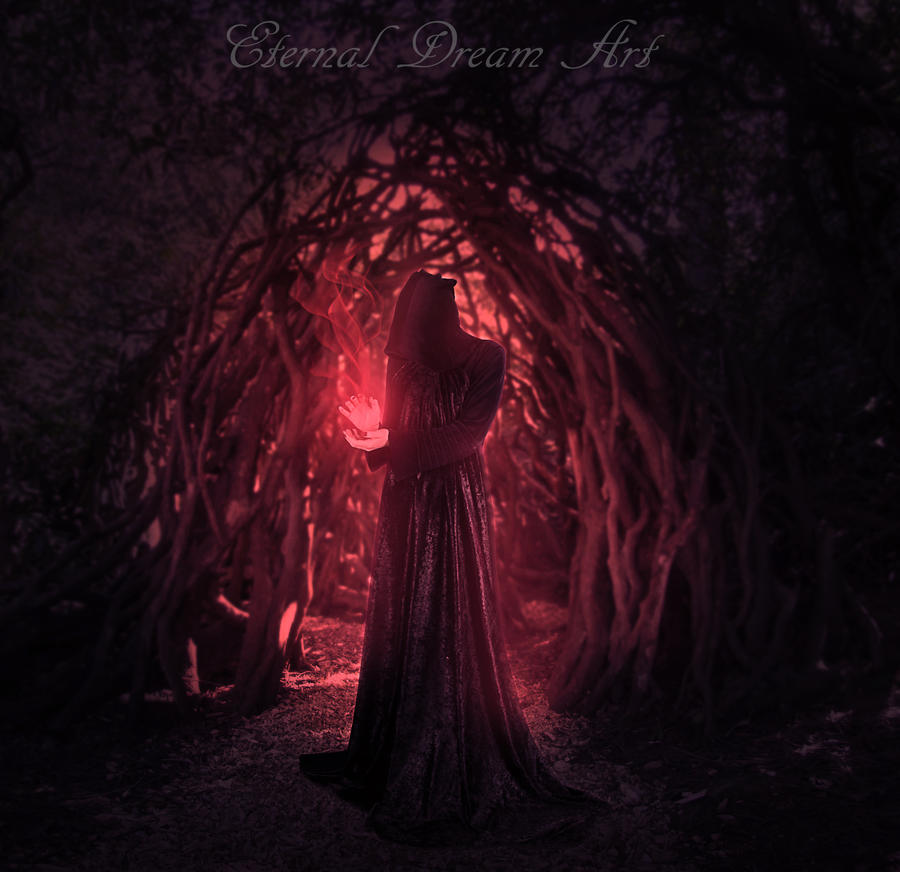 Black Witch by Eternal-Dream-Art