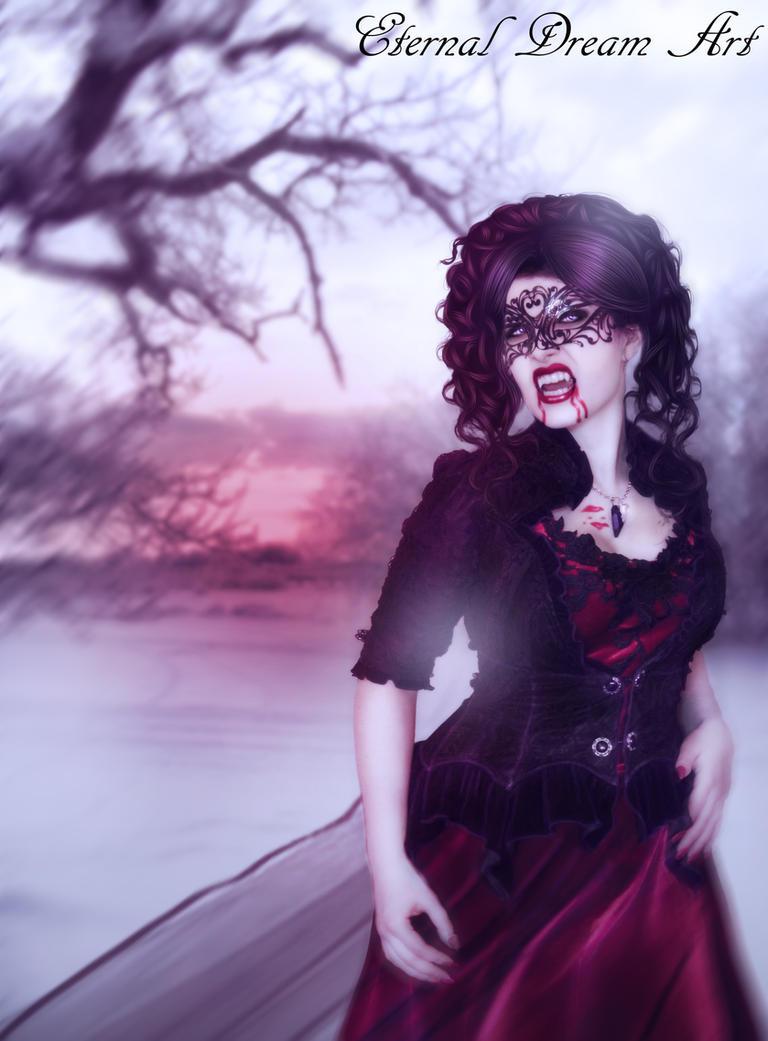 Lady Vamp by Eternal-Dream-Art