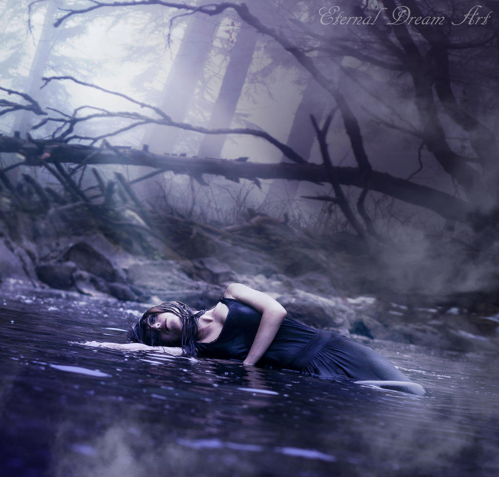 The dream of nayade by eternal dream art on deviantart - The hideout in the woods an artists dream ...