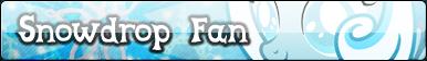 Snowdrop fan button.