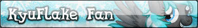 KyuFlake Fan button by BronyXceed