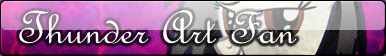 Thunder Art Fan button by BronyXceed