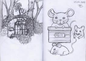 Sketchbook 2 Pages 8-9