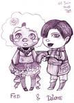 Chibis - Fen et Dolores