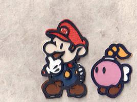 Paper Mario by folderol