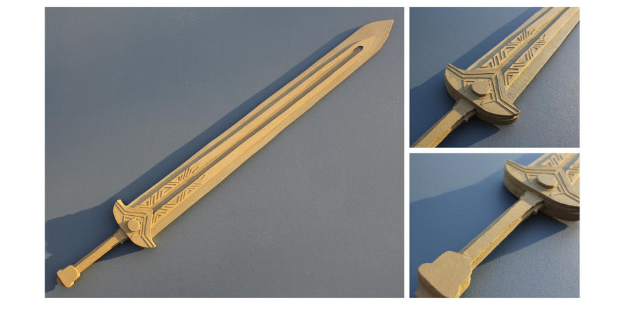 Dwarven Sword by folderol