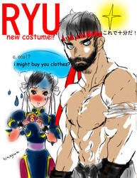 Street Fighter-RYU!.....R,ruy!? by La-h-i-n-a-y-u-m-e