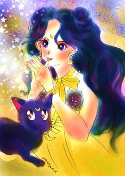 Sailor moon-human Luna-twinkle of star